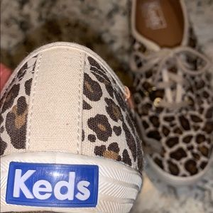 Keds leopard print snickers size 7.0